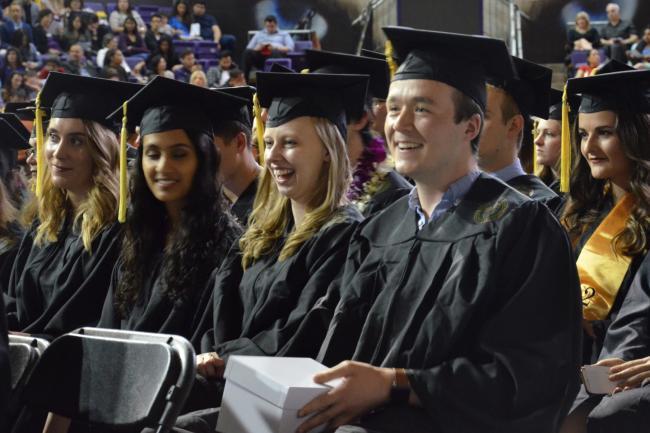 Graduates at Convocation