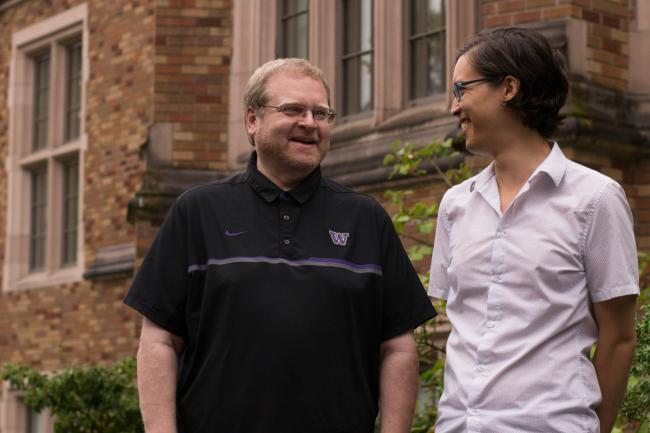 Scott Barker and Andy Ko