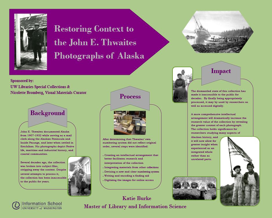 Restoring Context To The John E Thwaites Photographs Of Alaska
