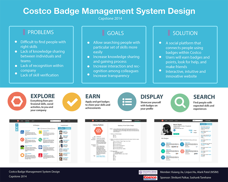 Costco Badge Management System Design | Information School