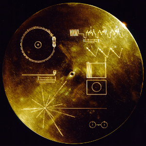 The Golden Record aboard Voyager 1