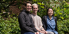 Adam Bourn, John Harrison, Monica Cao