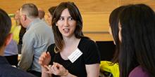 iSchool Ph.D. student Rachel Franz