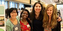 Amanda Chin, Fatima Machado, Annabella Abrao and J. Clare Morrison