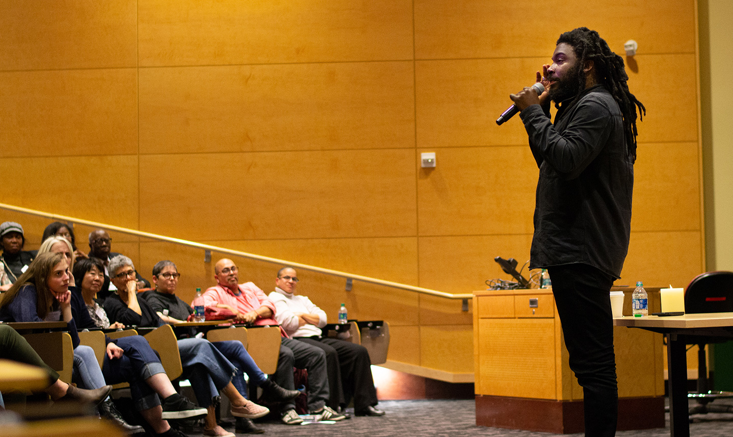 Jason Reynolds speaks