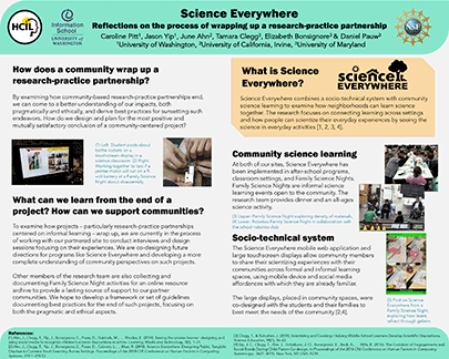 Poster: Science Everywhere