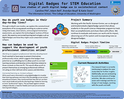 Poster: Digital Badges for STEM Education