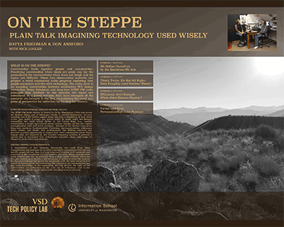 Poster: On the Steppe