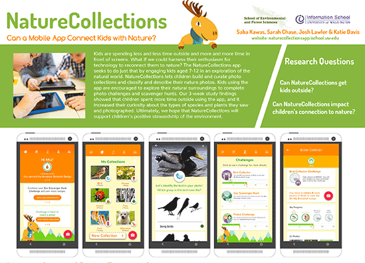 Portion of NatureCollections poster
