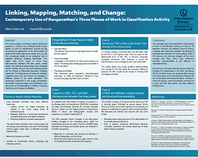 Poster: Linking, Mapping, Matching, and Change