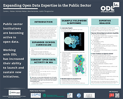 Poster: Expanding Open Data Expertise in the Public Sector