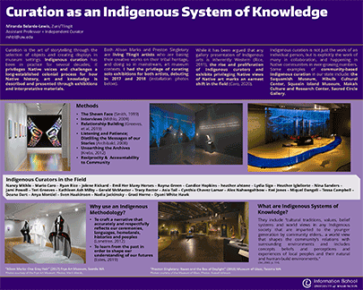 Poster: Curation as an Indigenous System of Knowledge