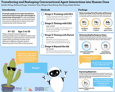 Poster: Transferring and Reshaping Digital Assistant Interactions into Human Ones