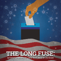 "Cover of the Election Integrity Partnership's report, ""The Long Fuse."""