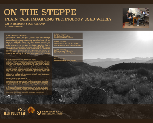 On the Steppe poster