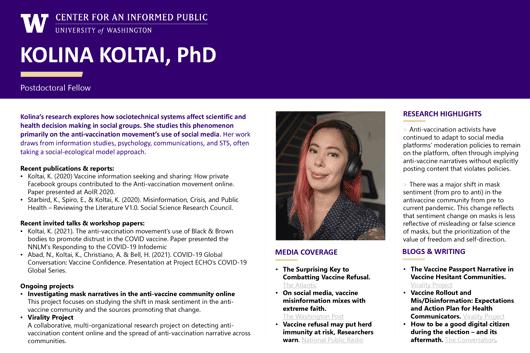 Kolina Koltai poster