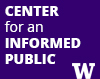 Center for an Informed Public tile