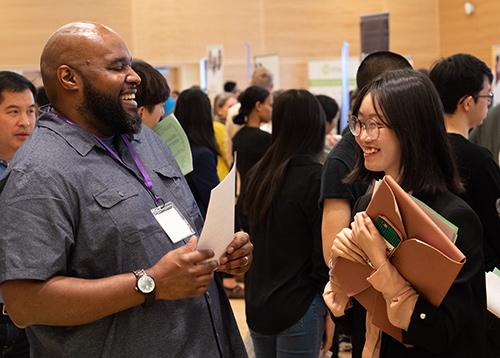 A Student Meets An Employer