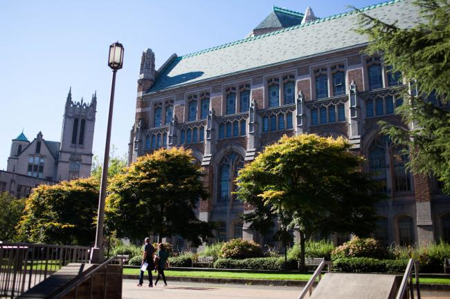 Suzzallo Library from Mary Gates Hall