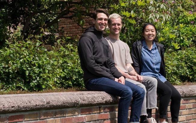 Adam Bourn, John Harrison, Monica Cao