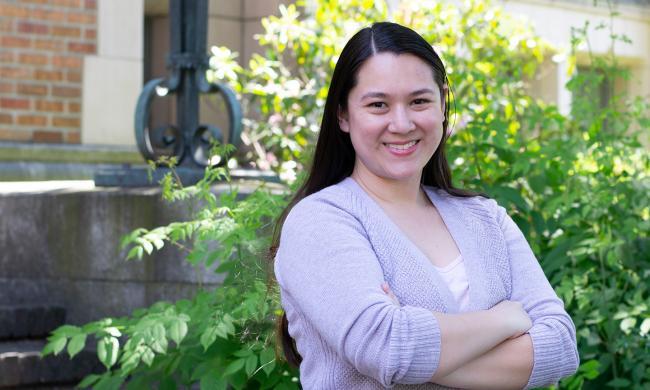 MLIS student Jacqui Howell