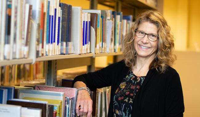 Cindy Aden at Washington State Library