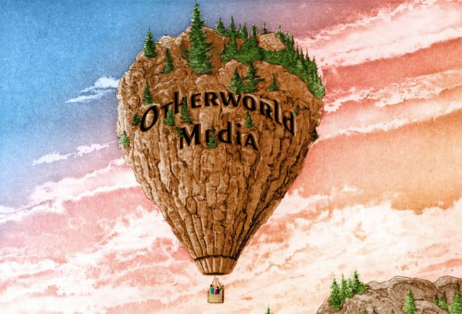 Air balloon graphic with the phrase 'Otherworld Media'