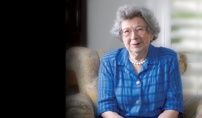Beverly Cleary in 2008